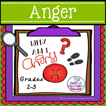 A Guidance Lesson on How Anger Only Hurts Me, Grades 2-3