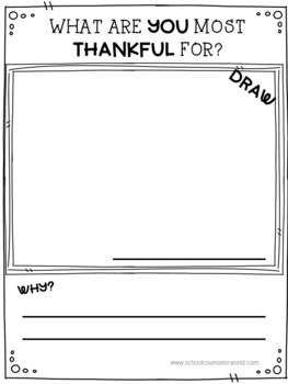 Guidance Lesson on My Gratitude Attitude for Grades 2-3