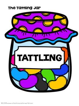 Guidance Lesson on Tattling vs. Telling, Grades K-1