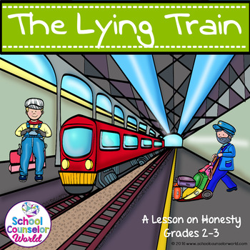 Guidance Lesson on The Lying Train, Grades 2-3