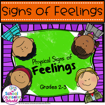 A Guidance Lesson on The Physical Symptoms of Feelings & Emotions, Grades 2-3