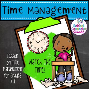 Guidance Lesson on Time Management, Grades K-1