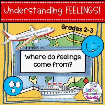 A Guidance Lesson on Understanding Feelings, Grades 2-3