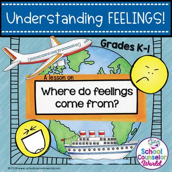 Guidance Lesson on Understanding Feelings, Grades K-1