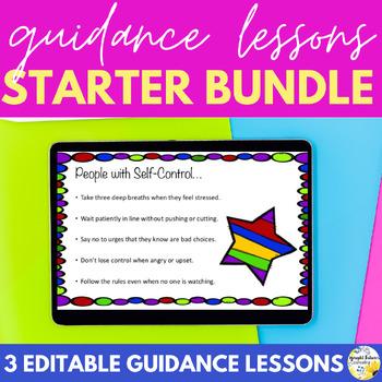 Guidance Lessons BUNDLE