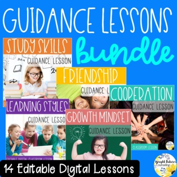 Guidance Lessons GROWING BUNDLE