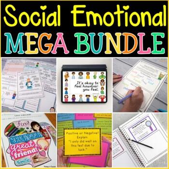 Social Emotional MEGA BUNDLE - Distance Learning - Google Classroom