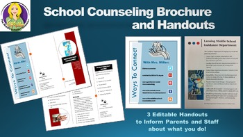 School Counseling Brochure and Handouts