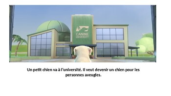 Guide Dog Movie Talk French PowerPoint Presentation