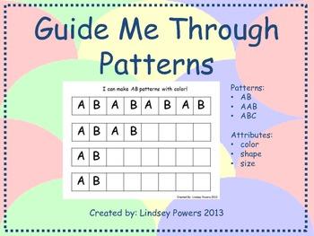 Guide Me Through Patterns