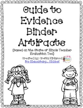 Guide To Evidence Binder Artifacts (DeKalb, Illinois Version)