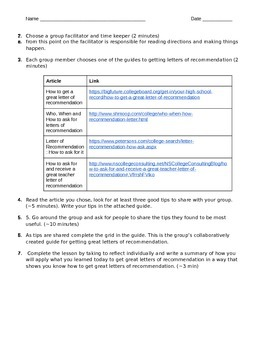 Guide To Getting Great Letters of Recommendation