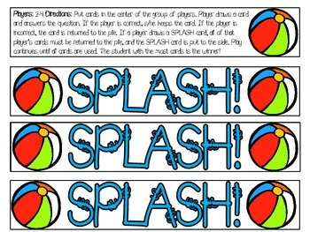 Guide Word SPLASH!-A Review Game