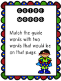 Guide Word Superhero Center