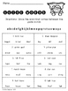 Guide Word Superhero Worksheets