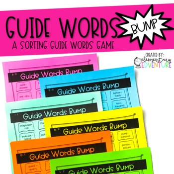 Guide Words Bump