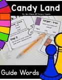 Guide Words Candy Land