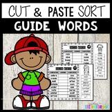 Guide Words Worksheets | Guide Word Practice