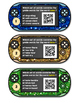 Guide Words QR Code Task Cards or SCOOT