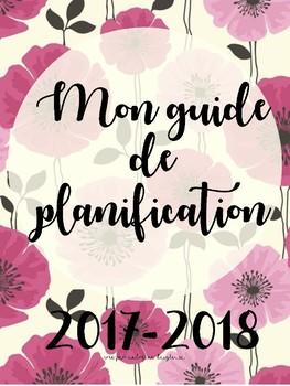Guide de planification 2017 - 2018