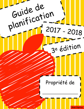 Guide de planification 2017-2018 - 3AM/2PM - Version pomme