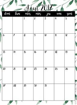 Guide de planification 2017-2018 FEUILLU