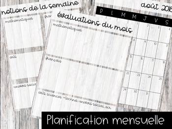 Guide de planification 2018-2019 // 4 périodes AM et 2 périodes PM