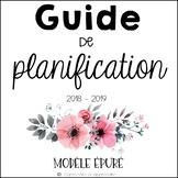 Guide de planification 2018-2019 (épuré)