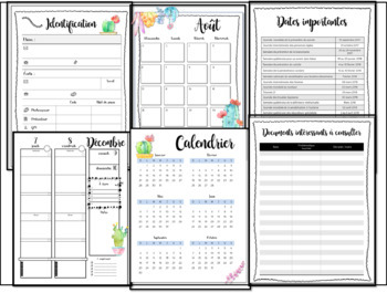 Guide de planification de l'éducateur spécialisé - 5 périodes 3am 2pm