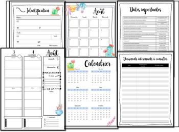 Guide de planification de l'éducateur spécialisé - 6 périodes 3am 3pm