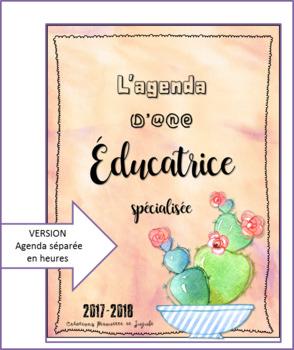 Guide de planification de l'éducateur spécialisé - Agenda à l'heure