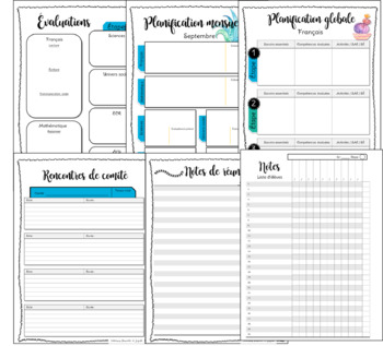 Guide de planification de l'enseignant 10périodes  6am 4pm