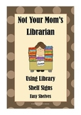 Guide for Library Shelf Signs - Easy Readers - Brown Dot