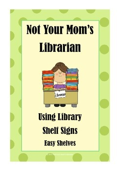 Guide for Library Shelf Signs - Easy Readers - Green Dot