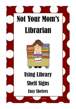 Guide for Library Shelf Signs - Easy Readers - Red Dot