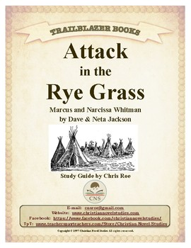 Guide for TRAILBLAZER Book: Attack in the Rye Grass