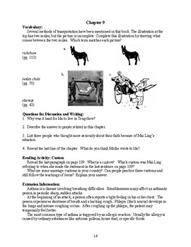 Guide for TRAILBLAZER Book: Drawn by a China Moon