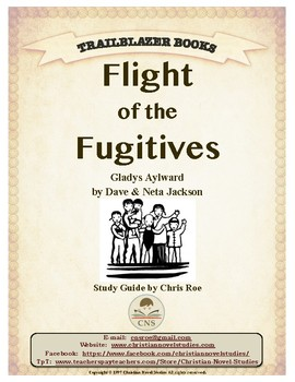 Guide for TRAILBLAZER Book: Flight of the Fugitives