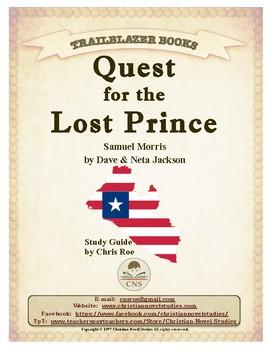 Guide for TRAILBLAZER Book: Quest for the Lost Prince