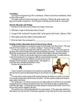 Guide for TRAILBLAZER Book: Roundup of the Street Rovers