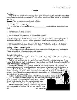 Guide for TRAILBLAZER Book: The Chimney Sweep's Ransom