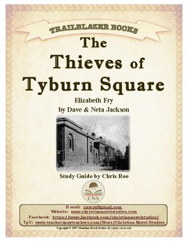 Guide for TRAILBLAZER Book: The Thieves of Tyburn Square