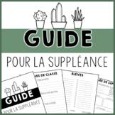 Guide pour la suppléance
