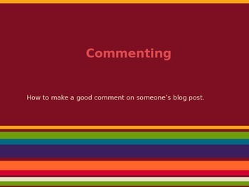 Guide to Commenting on Blog Posts