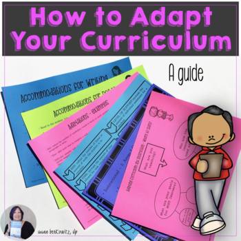 Guide to Curriculum Adaptation Differentiated Instruction Strategies & UDL