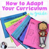 How to Adapt Curriculum Strategies to Differentiate Instru