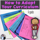 Guide to Curriculum Adaptation Differentiated Instruction