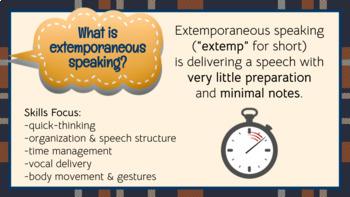 Extemporaneous Speech Topics