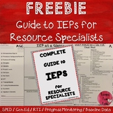 Special Education: Guide to IEPs for Resource Specialists