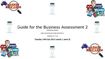 Guide to Marketing Assessment